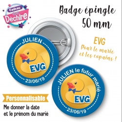 Badge EVG personnalisable