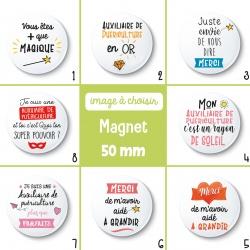 Magnet auxiliaire de puériculture - 50 mm - Choix de l'image