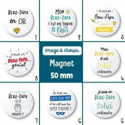 Magnet beau-papa - 50 mm - Choix de l'image