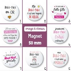 Magnet belle-fille - 50 mm - Choix de l'image
