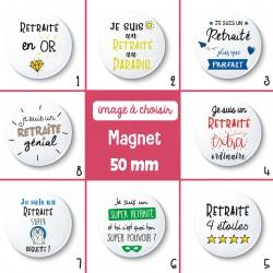 Magnet retraité - 50 mm - Choix de l'image