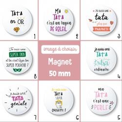 Magnet tata - 50 mm - Choix de l'image
