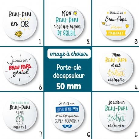 Porte-clé décapsuleur beau-papa - 50 mm - Choix de l'image