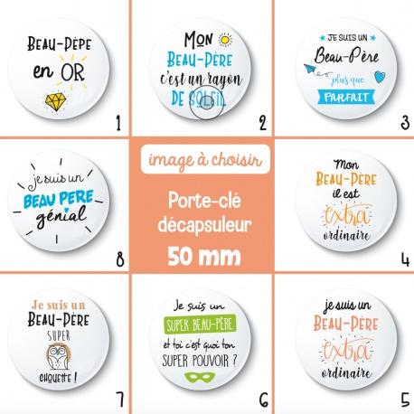 Porte-clé décapsuleur beau-père - 50 mm - Choix de l'image