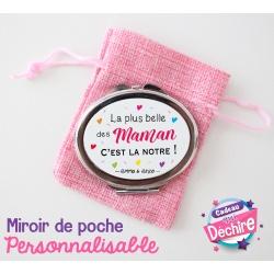 Miroir de poche maman