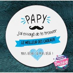 Tapis de souris Papy