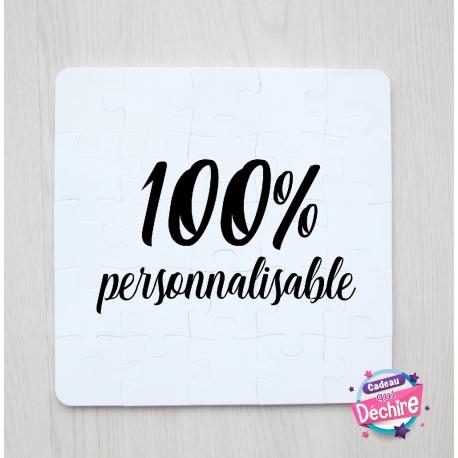 Puzzle 100% personnalisable