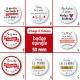 Badge épingle Saint Valentin - 50 mm - Choix de l'image