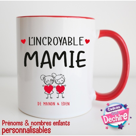 "Mug "" L'incroyable Mamie """