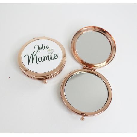"Miroir de poche "" Jolie Mamie """