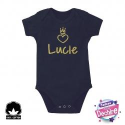 Body bébé prénom personnalisable