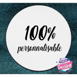 Tapis de souris 100 % personnalisable