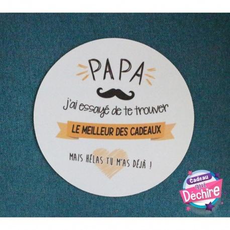 Tapis de souris Papa